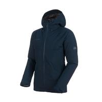 MAMMUT 猛犸象 Convey系列 男子冲锋衣 1010-26470 深海蓝色/钛灰色 XL