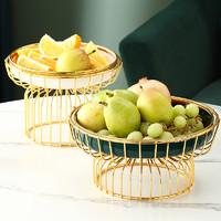 BSD轻奢网红水果盘客厅茶几家用创意个性时尚现代糖果盘北欧风格