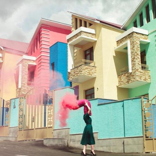 艺术品 : 卡连·哈洽图罗夫 摄影作品《淑女篇》Arpine Series