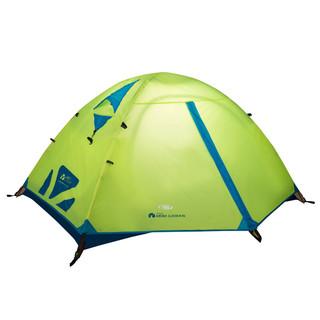 MOBI GARDEN 牧高笛 冷山3air升级版 帐篷 NXZQU61010 荧光黄 3人