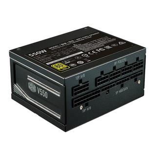 COOLERMASTER 酷冷至尊 V550 GOLD 金牌(90%)全模组SFX电源 550W