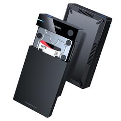 UGREEN 绿联 硬盘盒3.5/2.5英寸usb3.0通用台式机笔记本电脑外置sata读取器保护壳底座固态ssd机械改移动硬盘外接盒子