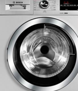 BOSCH 博世 冰洗套装 KXN52A69TI变频对开门冰箱 530L 雪利金+WDG284681W洗烘一体机 洗8kg烘5kg 银色