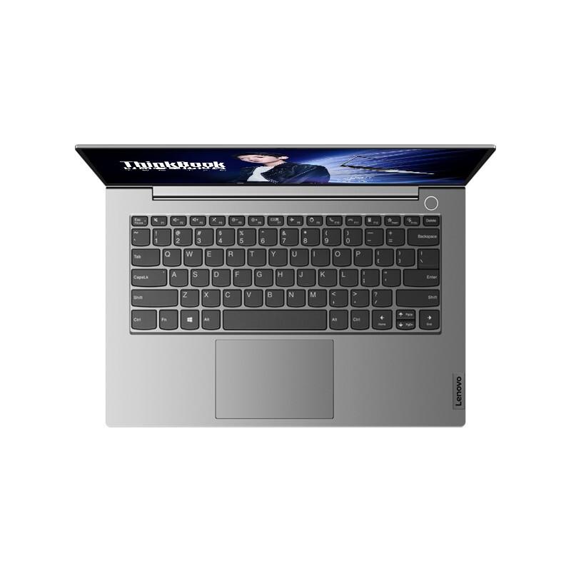ThinkPad 思考本 ThinkBook 14 2021款 14英寸 笔记本电脑 锐龙R7-4800U 16GB 512GB SSD 核显 灰色