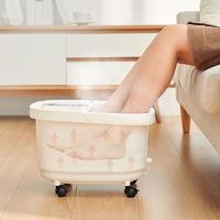 红光气泡理疗按摩泡脚,网易智造水浴沐足盆