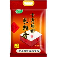 十月稻田 长粒香大米 10kg *2件