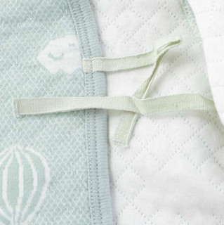Bornbay 贝贝怡 婴儿保暖家居服套装 BB8213 灰绿 52cm