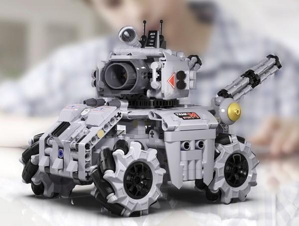 京东PLUS会员:CaDA 咔搭 积木赛车系列  风暴坦克  501PCS