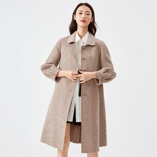 伊芙丽 1BB972321W 双面尼格子大衣