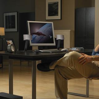 Bose Companion50 多媒体扬声器系统  C50电脑桌面音箱系统多功能