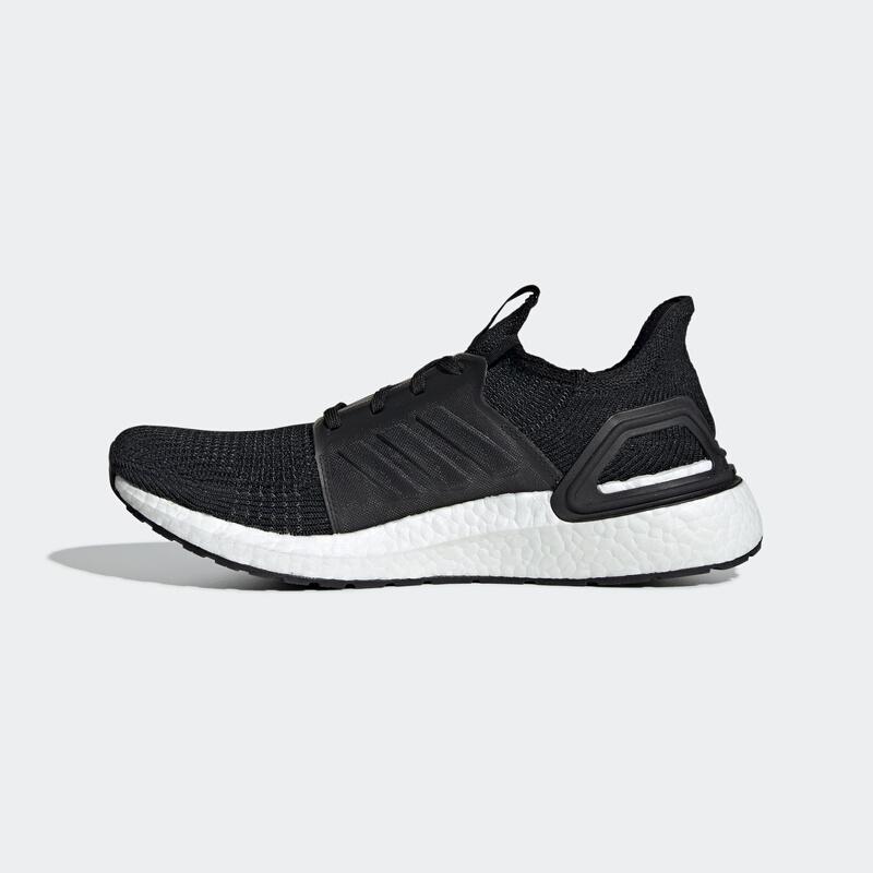 adidas 阿迪达斯 UltraBOOST19系列 男子跑鞋 G54009 黑色五度灰 42