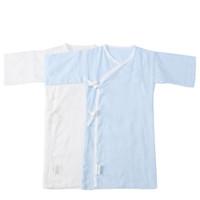 22点截止:Purcotton 全棉时代 婴儿连体衣 蓝色➕白色