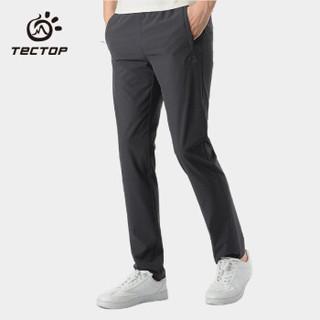 探拓(TECTOP)速干裤 男女户外弹力透气快干长裤
