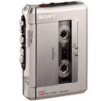 中亚Prime会员:Sony 索尼 TCM-450DV 标准磁带录音机(银色)
