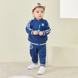 Balabala 巴拉巴拉 儿童运动套装 中国蓝8515 73