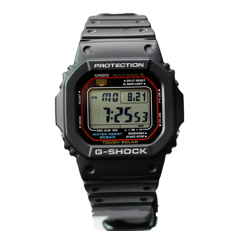 CASIO 卡西欧 G-SHOCK系列 46.7毫米石英腕表 GW-M5610-1