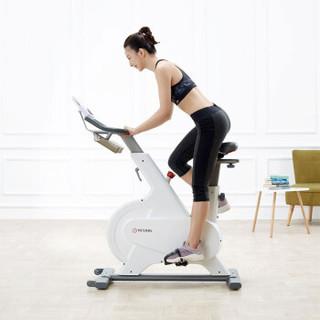 野小兽YESOUL 动感单车家用智能磁控超静音运动减肥器材健身车小米商城同款 M1雅典白-
