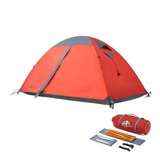 MOBI GARDEN 牧高笛 冷山2 帐篷 MZ093005 红色 2人