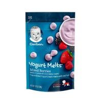 移动专享:Gerber 嘉宝 混合莓酸奶溶豆 3段 28g *2件