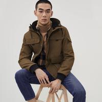 H&M 0762174 男士棉服 *2件