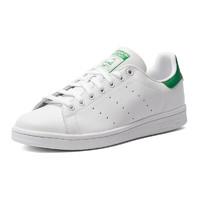 adidas Originals STANSMITH系列 中性休闲运动鞋 M20324 白色/绿尾 44
