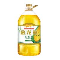 金龙鱼 非转基因 压榨玉米油 5L