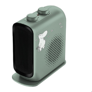 AIRMATE 艾美特 WP20-X17P-2 家用暖风机 姆明绿