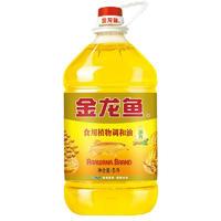 金龙鱼 浓香 食用植物调和油 5L