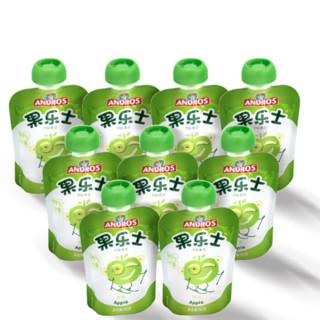 Fruit Me Up 果乐士 经典系列 果泥 3段 苹果味 90g*9支