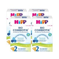 Hipp 喜宝 益生菌婴幼儿配方奶粉 2段 600g 4盒