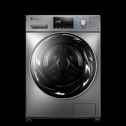 LittleSwan 小天鹅 水魔方系列 TG100EM01G-Y50C 滚筒洗衣机 10kg 巴赫银
