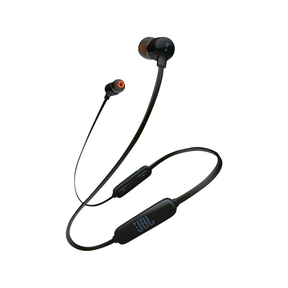 JBL 杰宝 TUNE 110BT 入耳式颈挂式蓝牙耳机 黑色