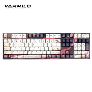 Varmilo 阿米洛 MA108 剑网3 天策联名款 静电容键盘 108键 有线版