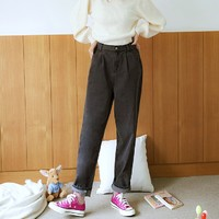 HSTYLE TK00858 女士萝卜牛仔裤