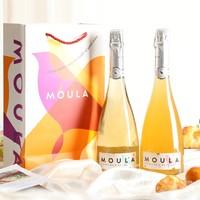 慕拉 莫斯卡托起泡酒 香槟白葡萄 750ml 单支