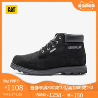 CAT/卡特2020秋冬新款男靴户外防滑耐磨轻便休闲工装靴男专柜同款(44、棕色)