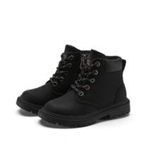 YEARCON 意尔康 男童纯色马丁靴 ECZ0748163