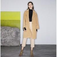 唯品尖货:ochirly 欧时力 1GY4342870 女士羊毛混纺大衣