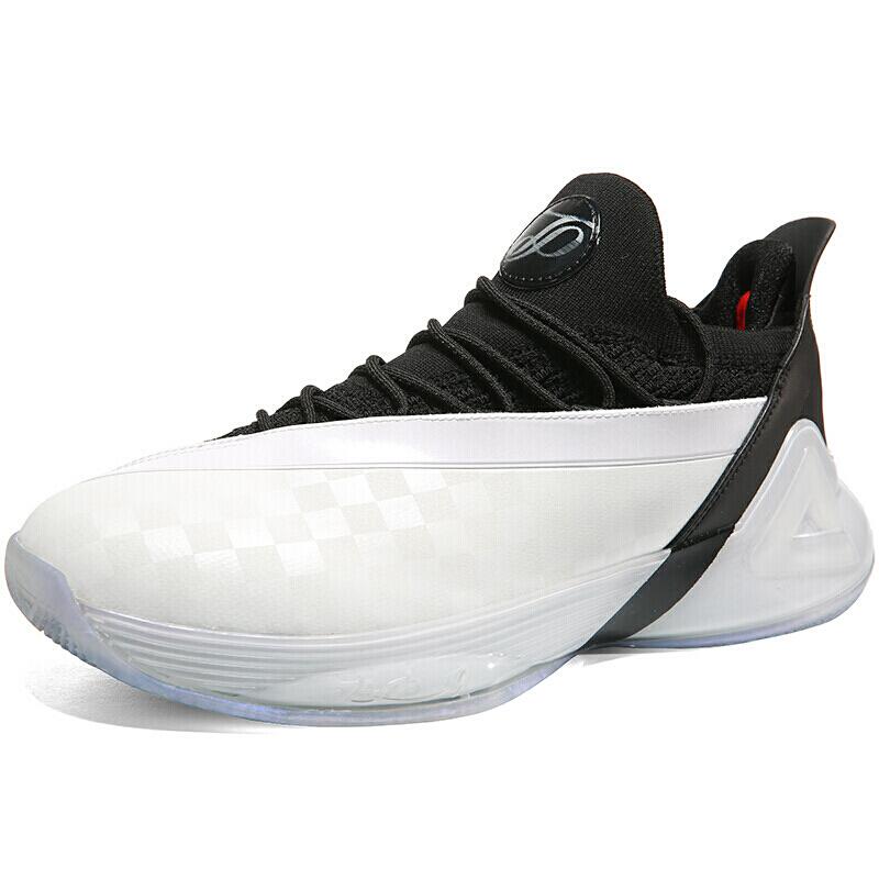 PEAK 匹克 帕克7代系列 男子篮球鞋 E93323A 大白/黑色 42