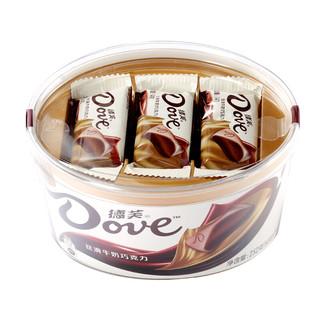 Dove 德芙 丝滑牛奶巧克力 252g
