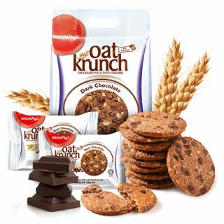 munchy's 马奇新新 黑巧克力豆燕麦饼干 416g *2件 +凑单品