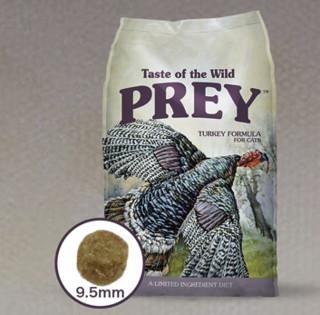 Taste of the Wild PREY荒野盛宴进口原肉粮猎食火鸡猫粮2.72kg