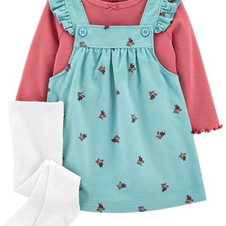 Carter's 女童裙装3件套