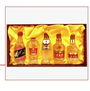 WULIANGYE 五粮液 五粮之旅 52%vol 浓香型白酒 50ml*5瓶 礼盒装