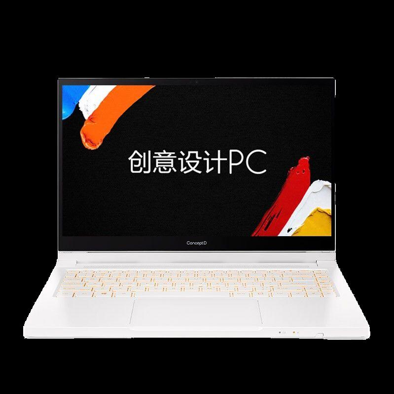 Acer 宏碁 ConceptD3 Ezel转轴 14英寸设计师笔记本电脑(i7-10750H、16GB、1TB、GTX1650Ti)