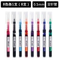 百亿补贴:M&G 晨光 M2001 Z1直液式彩色速干走珠笔 8色8支装