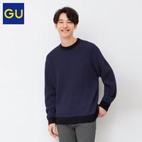 GU 极优 328385 男士针织衫