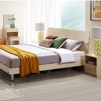 QuanU 全友 106302 卧室家具组合套装(1.8m床+床头柜+床垫)