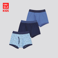 优衣库 男童短裤(3件装) 内裤 430682 UNIQLO