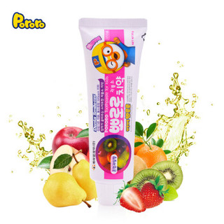 京东PLUS会员 : Pororo 啵乐乐 儿童牙膏 *2件